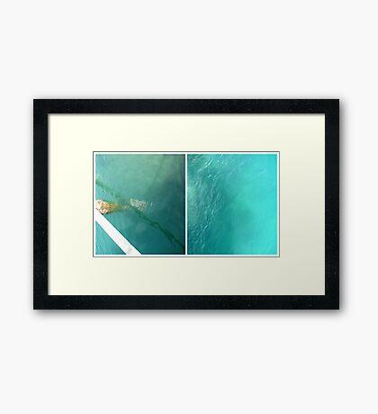 The Jetty #2 Framed Print
