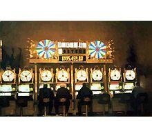 Slot Players Photographic Print