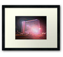 Stardust Las Vegas Vector Graphic #1 Framed Print
