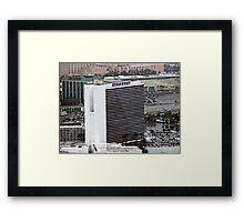 Stardust Las Vegas Vector Graphic #2 Framed Print