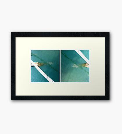 The Jetty #3 Framed Print