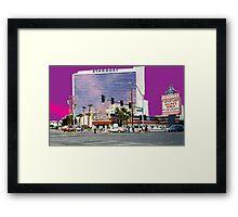 Stardust Las Vegas Vector Graphic #3 Framed Print