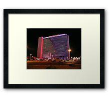 Stardust Las Vegas Vector Graphic #5 Framed Print