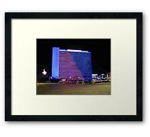 Stardust Las Vegas Vector Graphic #6 Framed Print