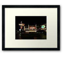 Stardust Las Vegas Vector Graphic #8 Framed Print