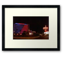 Stardust Las Vegas Vector Graphic #11 Framed Print