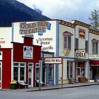 Alaska Landscape, Skagway Gold Rush Town by Peter  Downing