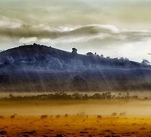 Whisps of velvet rains.... by Holly Kempe