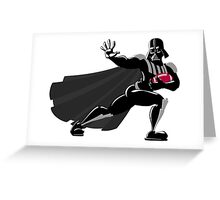Darth Vader / Heisman Trophy Greeting Card