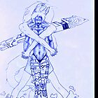 Mermaid prosthetics by aizen-mugen