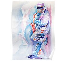 Sax by The Wall Poster