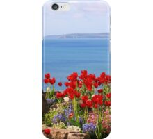 Tulips on the East Cliff, Bournemouth iPhone Case/Skin
