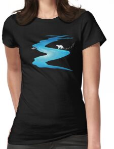 Arctic Ecosystem Womens Fitted T-Shirt