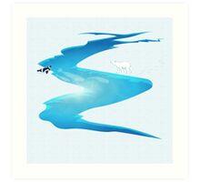 Arctic Ecosystem Art Print