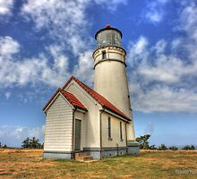 Little Lighthouse on the Bluff by Randall Scholten