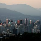 A Smoky Vancouver Evening by Wolf Read