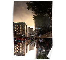 Reflected Glory - Bogota, Colombia Poster