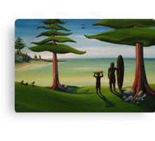 Beach Bros Canvas Print