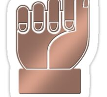 DAD in American Sign Language Sticker