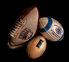 American Footballs by Andrew Pounder
