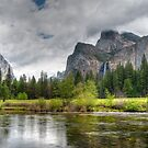 Yosemite Valley View by J. Day