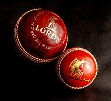 Cricket Balls by Andrew Pounder