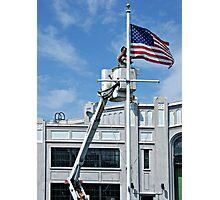 America Under Repair..Remembering 9/11 Photographic Print