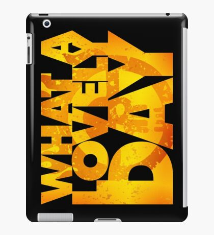 What a lovely day v.2 iPad Case/Skin
