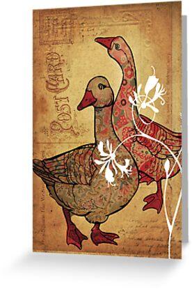 duck duck goose (version2) by Narelle Craven