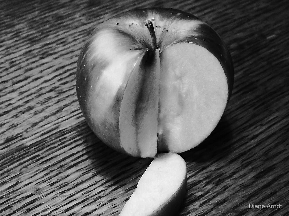 Sliced Apple by Diane Arndt