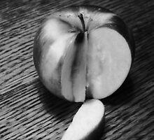 Sliced Apple by trueblvr