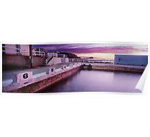 Newcastle Ocean Baths, NSW Poster