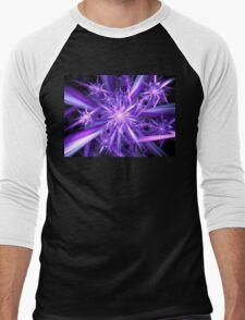"""""""Mana""""  - Fractal Art Men's Baseball ¾ T-Shirt"""