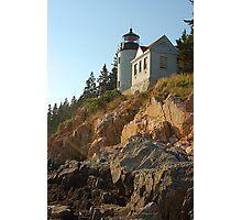 Bass Harbor Light Photographic Print