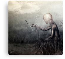 As Romance Dreams Fly Canvas Print
