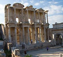 Library of Celcus in Ephesus, Turkey by InterfaceImages