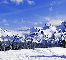 Beautiful Tatoosh Mountain Range by Tori Snow