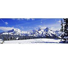 Beautiful Tatoosh Mountain Range Photographic Print