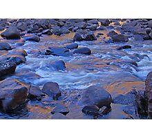 Liquid Gold, Katherine Gorge, Northern Territory,Australia Photographic Print