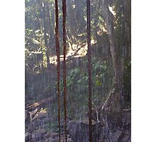 'WATER CURTAIN!' Taken behind the Waterfall! Photographic Print