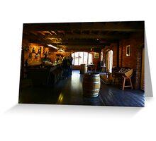 Wine Tasting Mclaren Vale Greeting Card