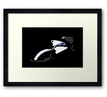 WILLIAMS_Bodycar_Artwork Framed Print