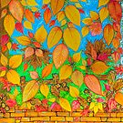 Tannery Lane Autumn by Vincent Loverso