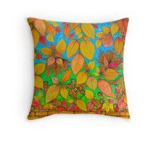 Tannery Lane Autumn Throw Pillow