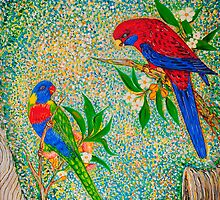 Love Birds. by Vincent Loverso