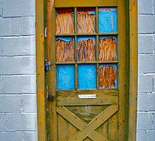 wooden doorway by courtneyk