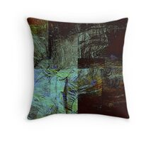 ancient surfaces...revisited Throw Pillow