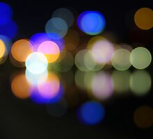 Yarra lights by Andrew Bradsworth