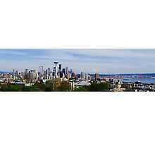 Seattle Panoramic Photographic Print