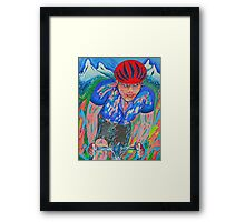 Mountain Trek Framed Print